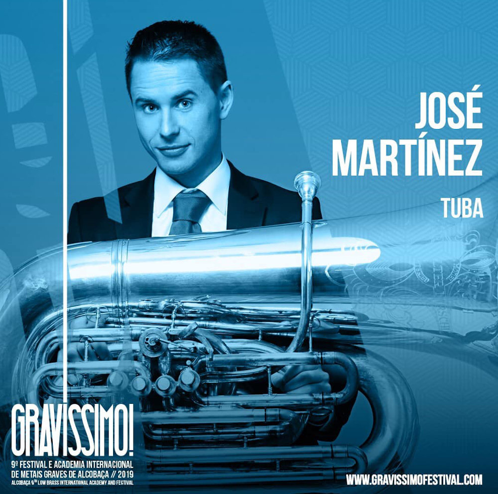 Guest artist at the Gravíssimo! Low Brass International Academy and Festival. August 2019.