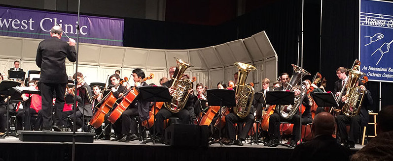 National Orchestra of Spain tubist performs the RVW tuba concerto