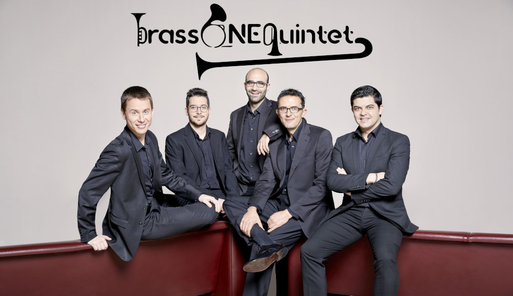 National Orchestra of Spain tubist and his brassONEquintet